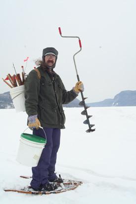 Ice fishing in vermont 39 s northeast kingdom barton area for Vermont fishing license